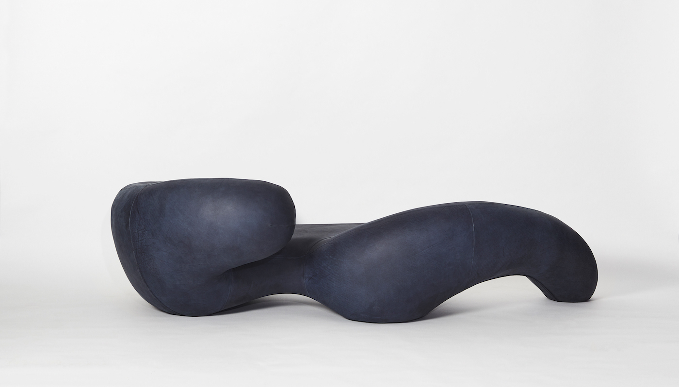 'Nwa-Mulamula' chaise by Rich Mnisi.
