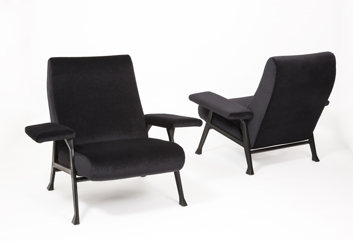 Hall model armchairs by Roberto Menghi, Italy 1958