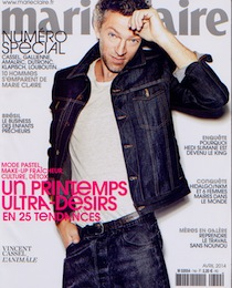 PAD - Marie Claire - Avril 2014 - COUV